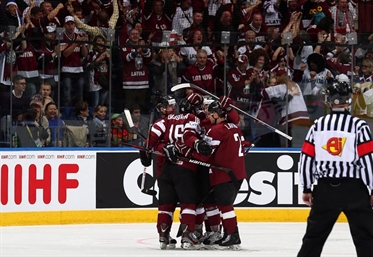 Latvia shocks Finland