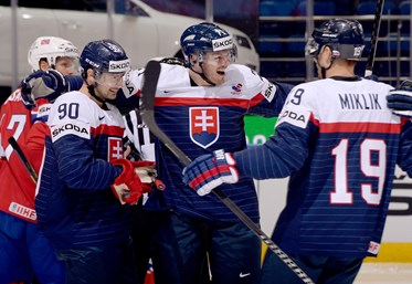Slovaks surge past Norway