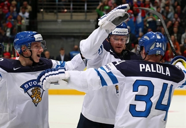 Finland earns 2-0 win
