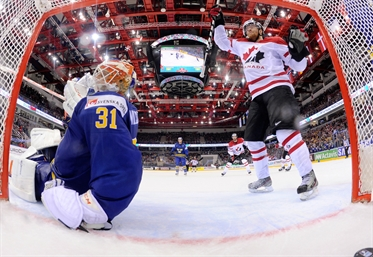 Canada edges Sweden