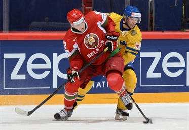 Sweden and Belarus face off